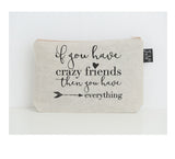 Crazy Friends small make up bag
