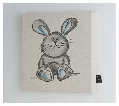 Cute Bunny canvas frame