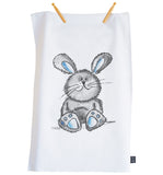 Cute Bunny Tea towel