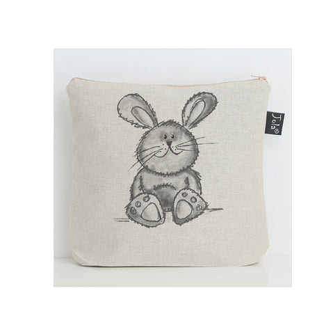 Cute bunny grey Washbag
