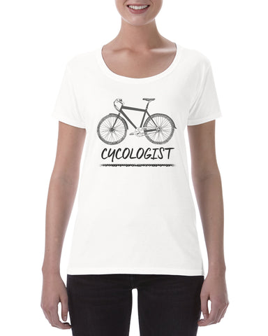 Cotton Ladies Cycologist T shirt