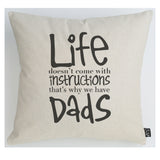 Dad instructions cushion
