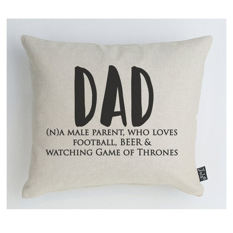 Personalised Dad Cushion
