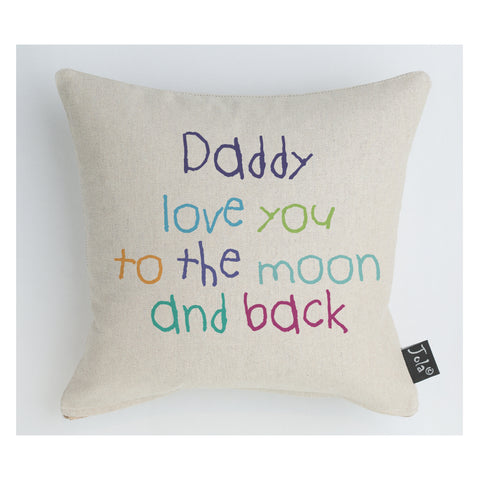Daddy Moon and Back Midi cushion