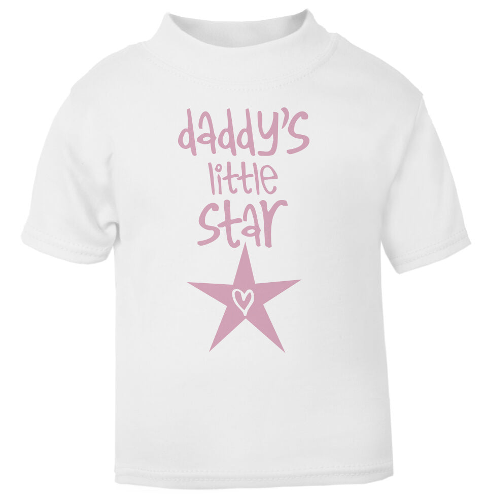 Daddy's Little Star T Shirt