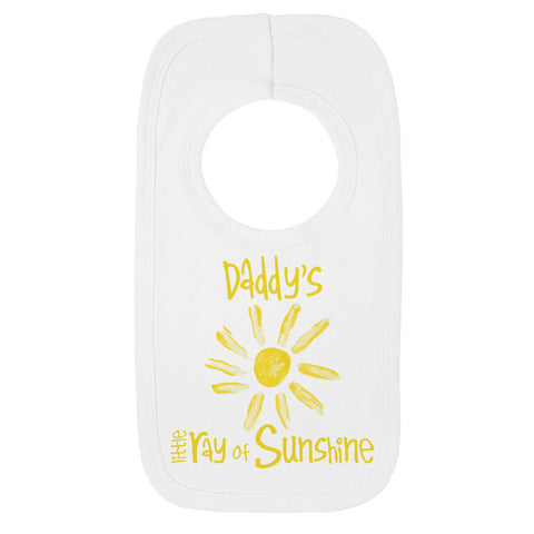 Daddy's Little Ray of Sunshine Bib
