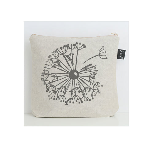 Dandelion grey washbag