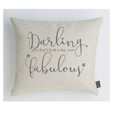 Day over fabulous cushion