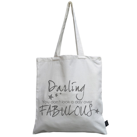 Day over fabulous canvas bag