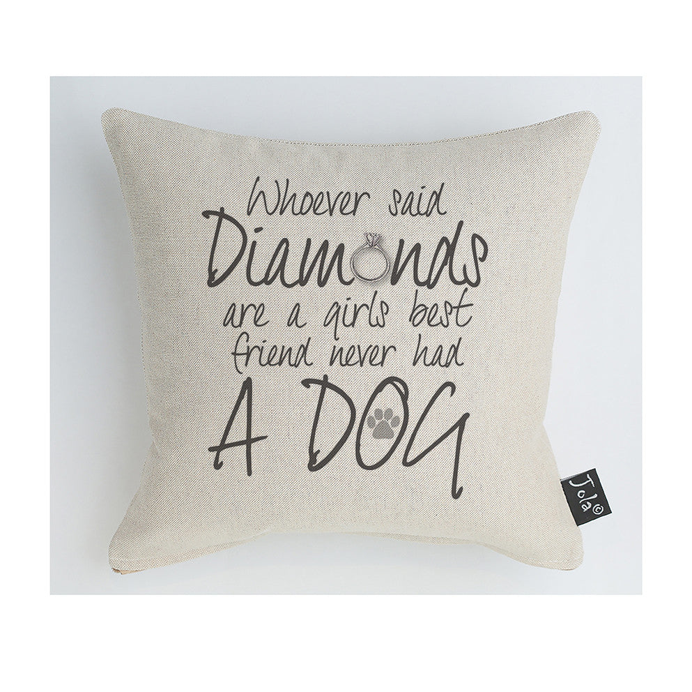 Diamond Dog Cushion