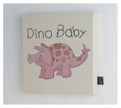 Dino Baby canvas frame