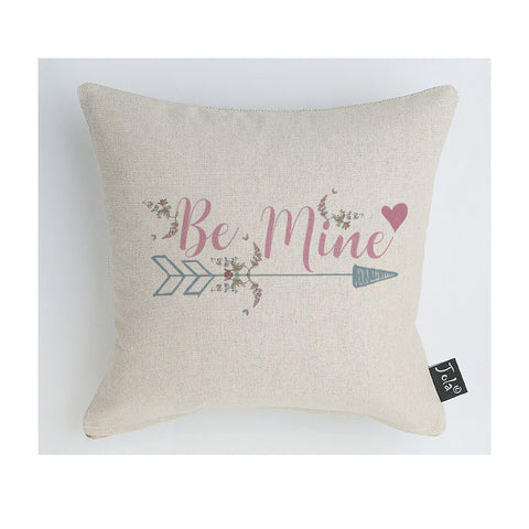 Be mine arrow cushion