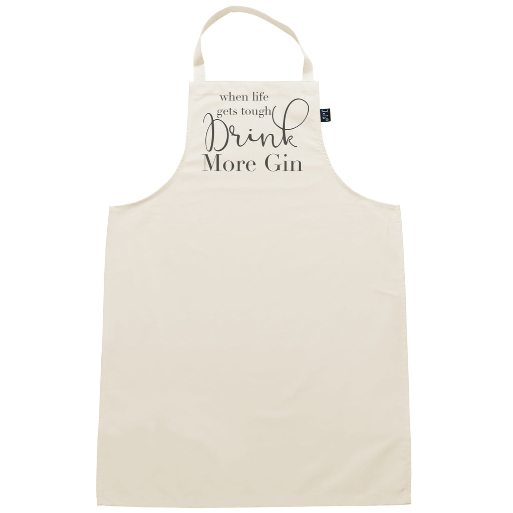 Drink More Gin Apron