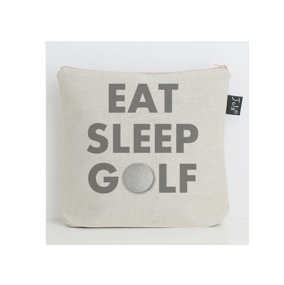 Eat Sleep Golf Wash Bag