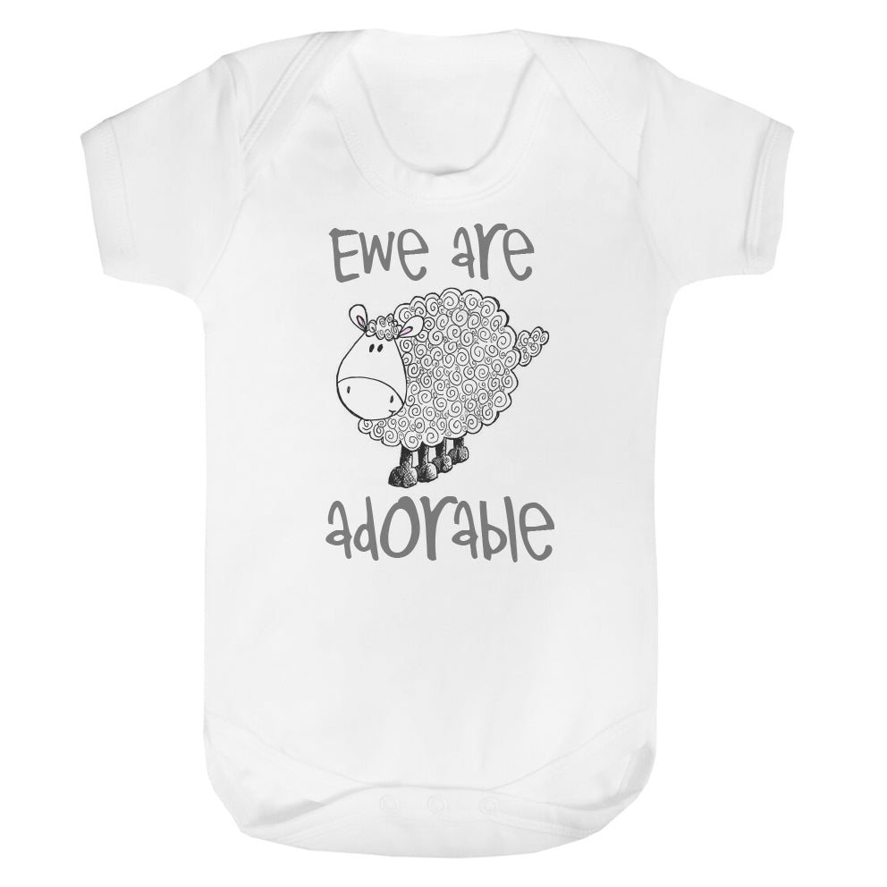 Ewe are adorable vest grey