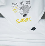 Ewe are my sunshine Baby Blanket