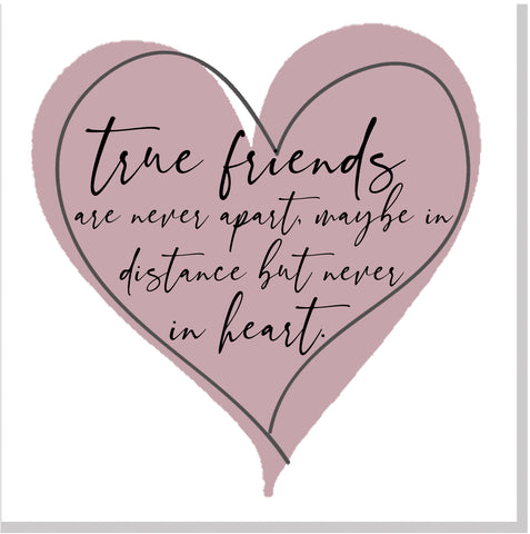 True Friends... square card