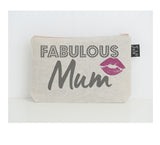 Fabulous Mum Lipstick small make up bag