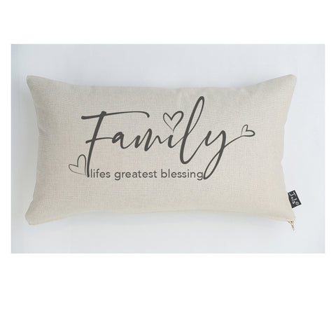 Family Lifes Greatest Blessing cushion