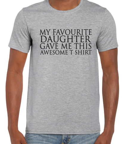 Cotton T Shirt Favourite Daughter