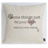 Fill your heart cushion