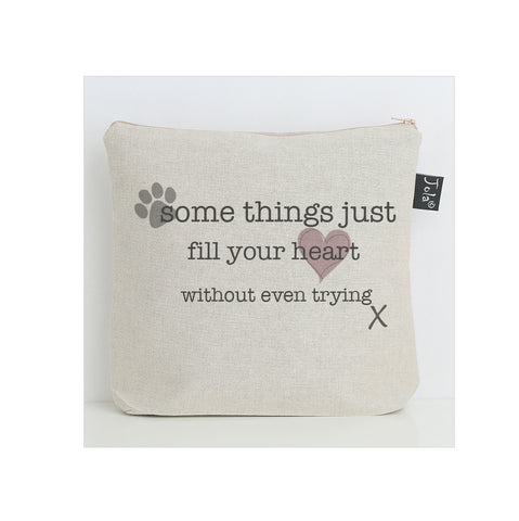 Fill your heart Wash bag