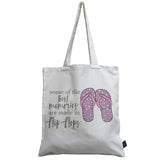 Flip Flops canvas bag