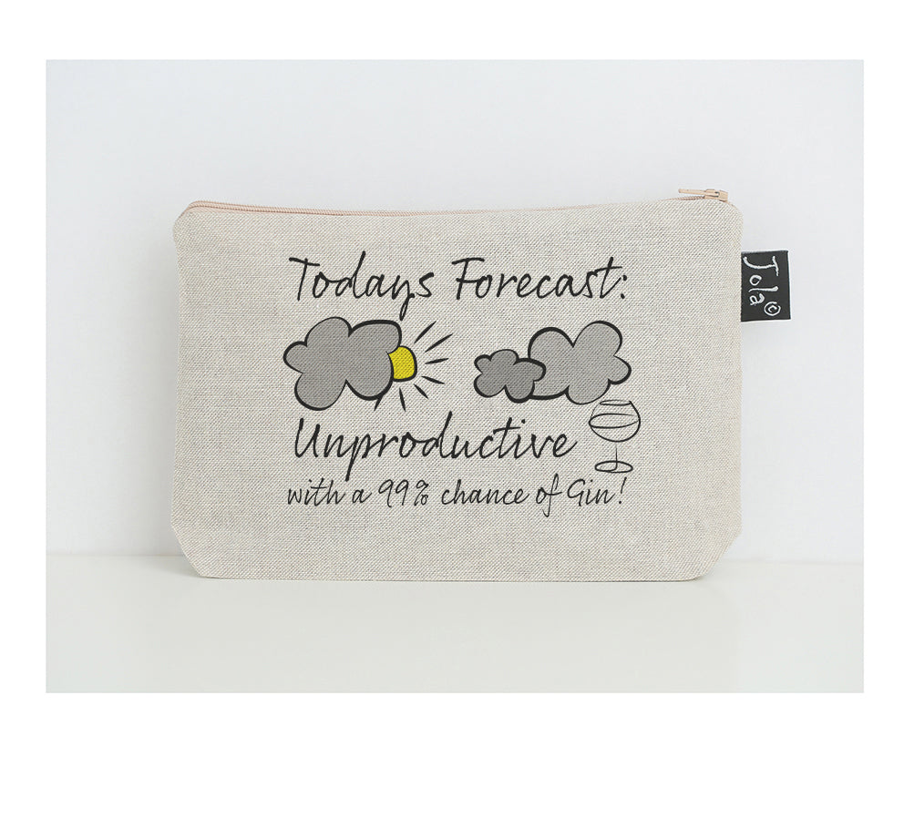 Forecast Gin small make up bag