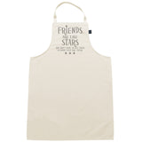 Friends are like stars Apron