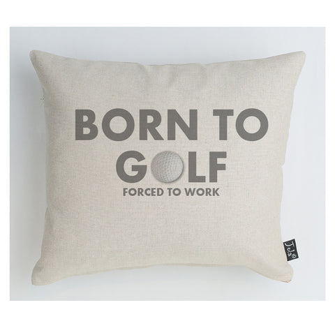 Born to Golf Boudoir Cushion