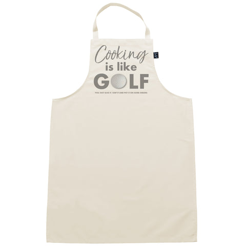 Apron Cooking is like Golf
