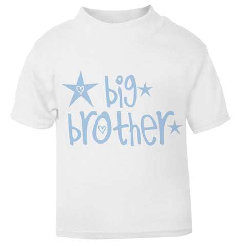 Big Brother Star Toddler T Shirt blue