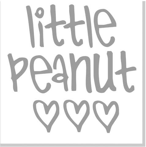 Little Peanut square card