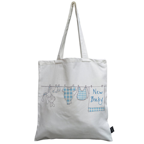 Washing line baby canvas bag
