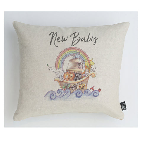 Noah's Ark Baby cushion
