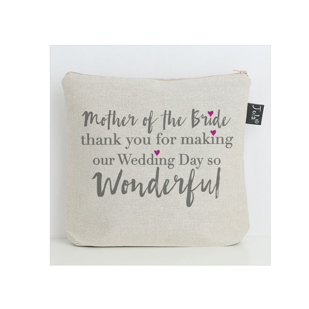 Mother of the Bride washbag