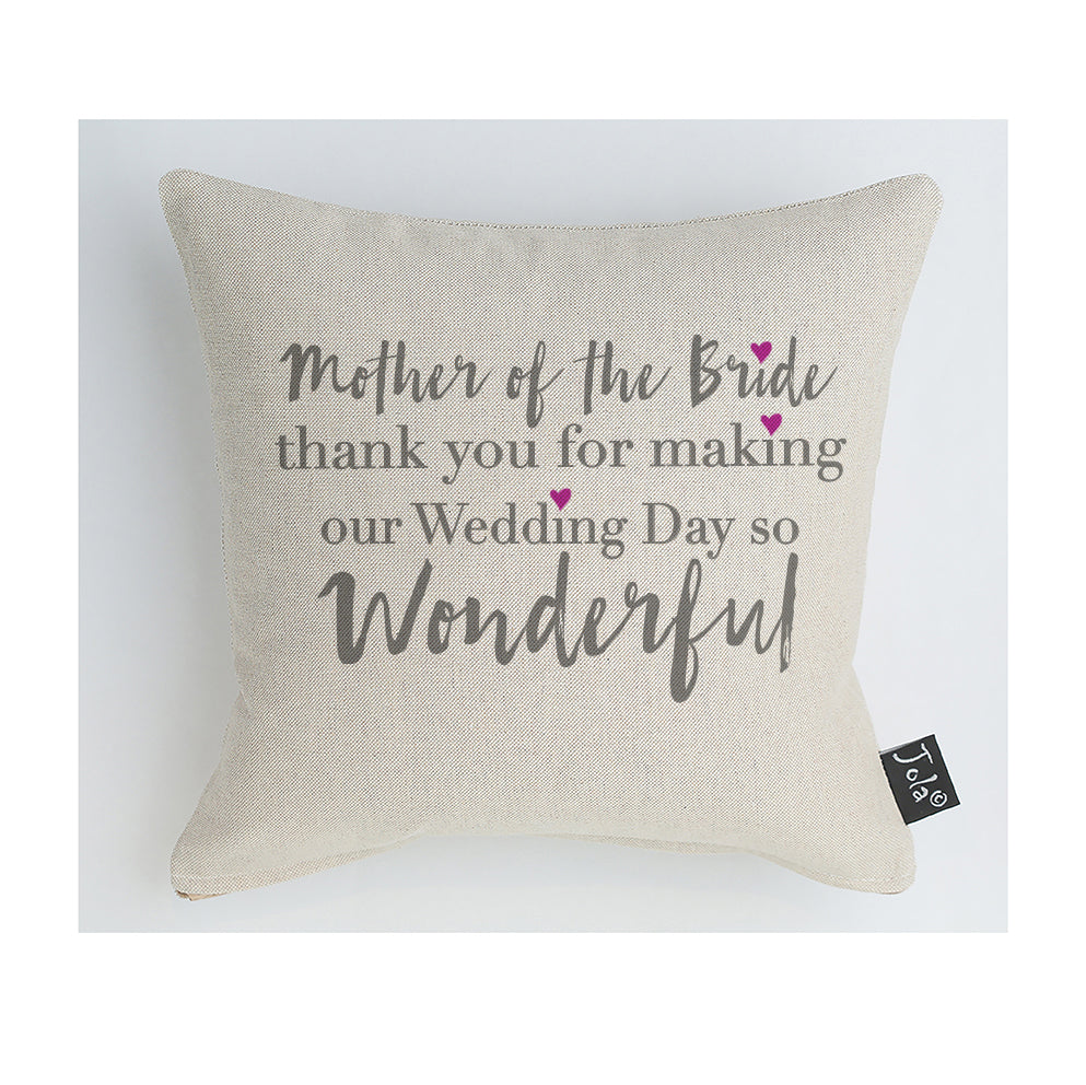 Mother of the bride Cushion