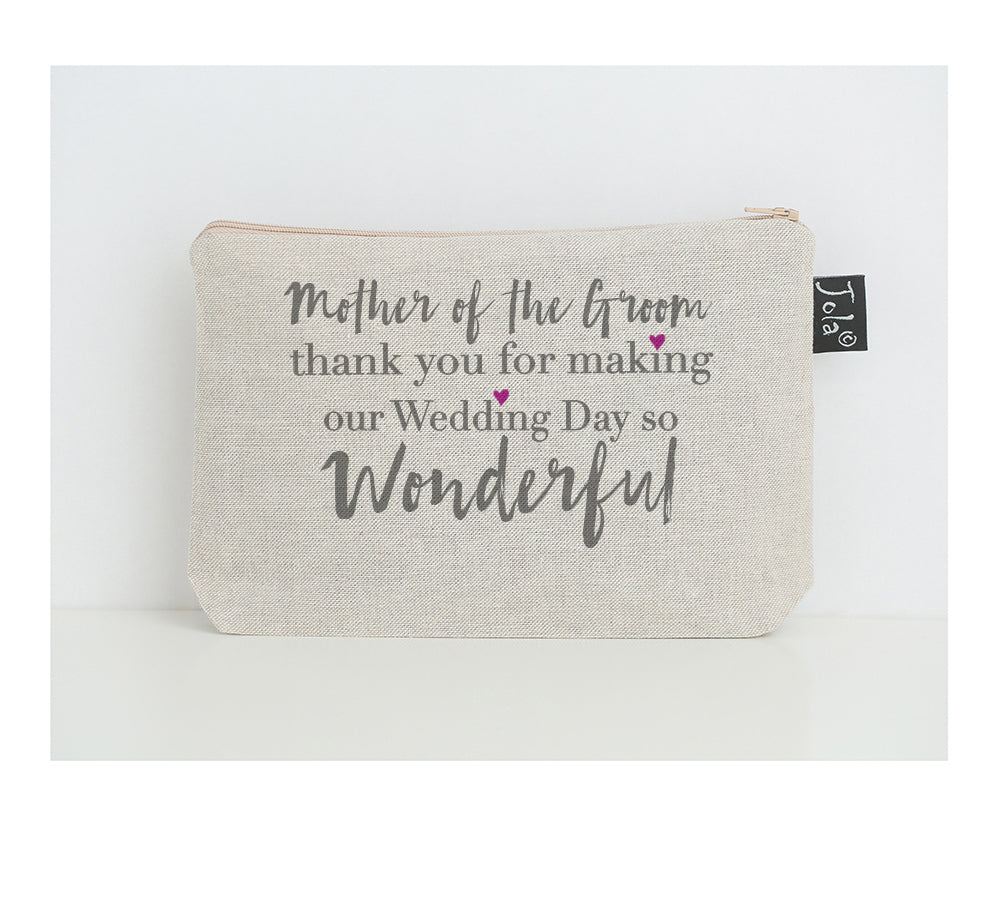 Mother of the groom small make up bag