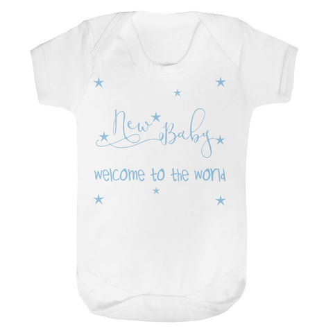 Welcome to the world Baby Vest