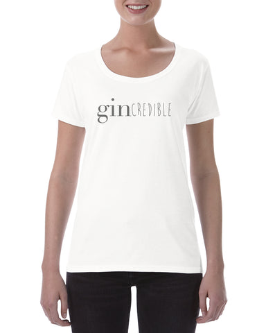 Cotton Ladies T Shirt Gincredible