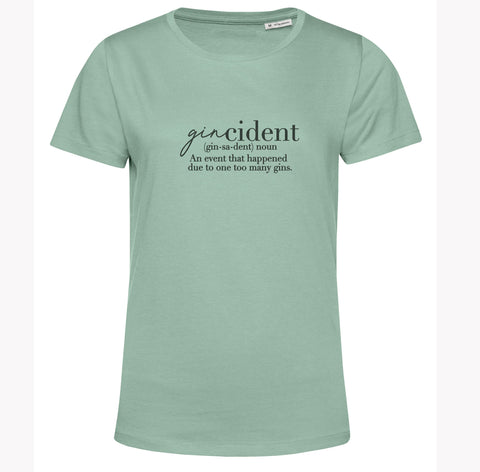 Organic Cotton T Shirt Gincident
