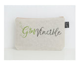 Ginvincible small make up bag