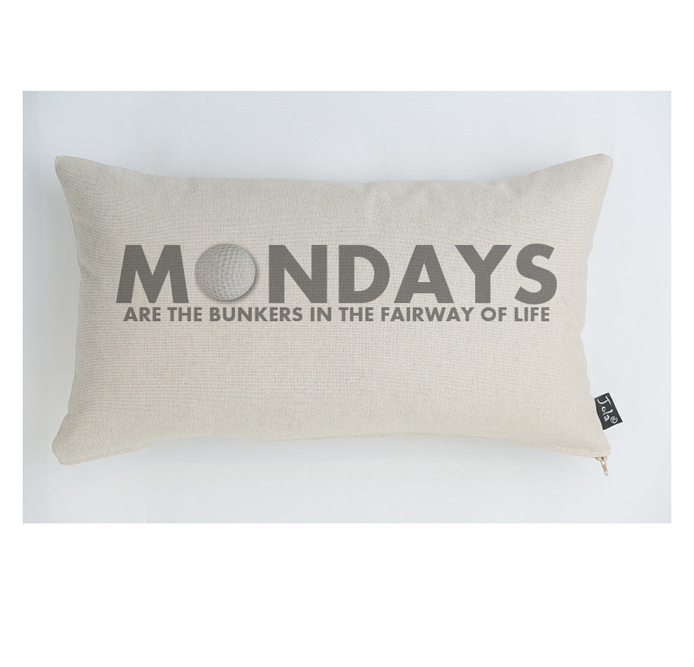 Mondays Golf cushion