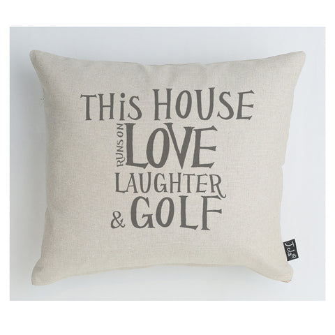 This House Golf Cushion