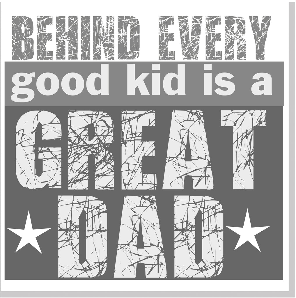 Great Dad square card