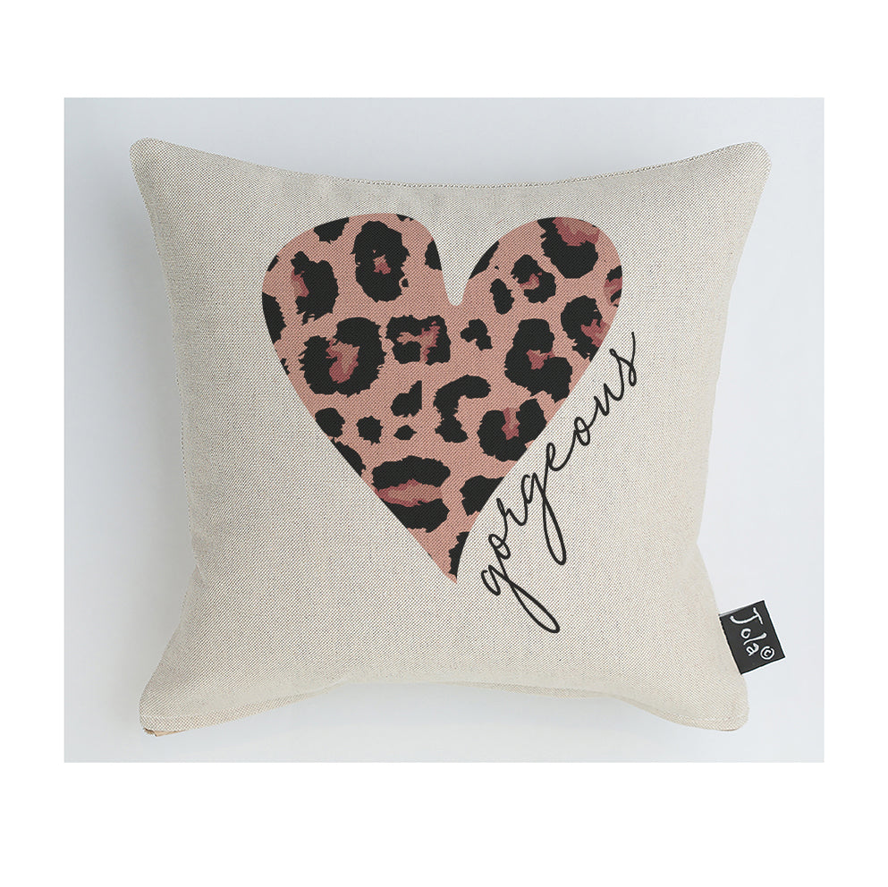 Gorgeous Leopard Pink cushion
