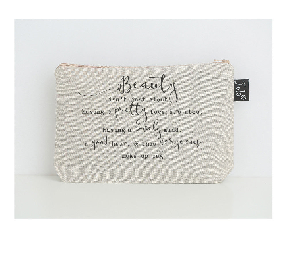 Gorgeous Small Make Up bag