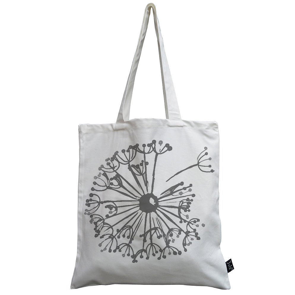 Dandelion canvas bag