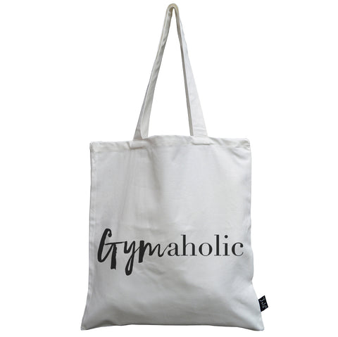 Gymaholic canvas bag