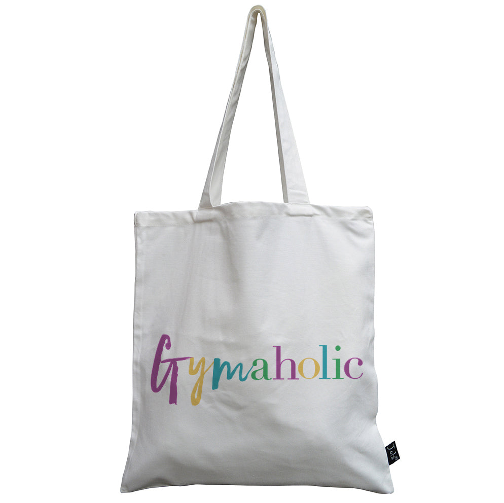 Gymaholic canvas bag multi